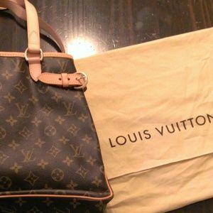 Louis Vuitton Monogram Batignolles Vertical Bag